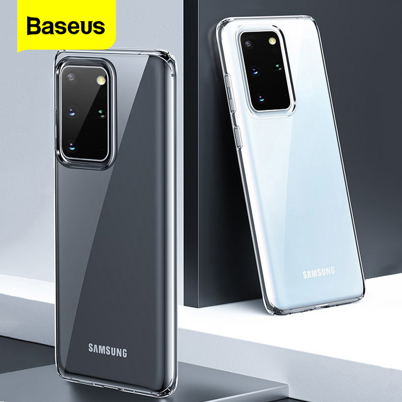 Baseus Clear Phone Case For Samsung S20 Case Coque Thin Soft TPU Transparent Back Cover For Samsung Galaxy S20+ S20 Ultra Fundas