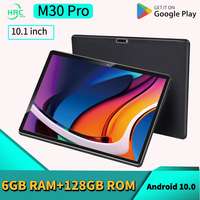 Nuovissimo Tablet da 10 pollici Android 10.0 Octa Core CPU 6GB RAM 128GB ROM 4G LTE WiFi GPS 6000mAh batteria tipo C Tablet PC
