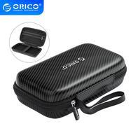 ORICO Power Bank Fall Tragbare HDD Schutz Tasche für Externe 2,5 zoll Festplatte/Kopfhörer/U Disk USB daten Kabel Fall