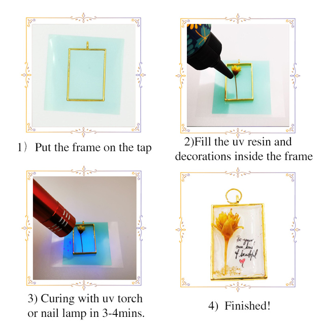 hard uv resin Wholesale 3 Size DIY Fast Curing UV Clear Hard Resin For Making Jewelry Handicrafts epoxy resin 5