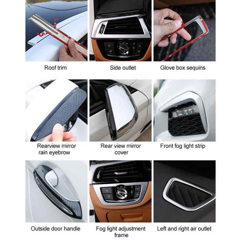 Lote de 94 unidades de adhesivo de doble cara multiusos, adhesivo de doble cara, promotor, estilo de puerta de coche, para cinta, accesorios de autos de 10ML