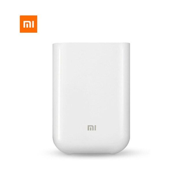Original Xiaomi Mijia AR Printer 300dpi Portable Photo Mini Pocket With DIY Share 500mAh picture printer pocket printer smart