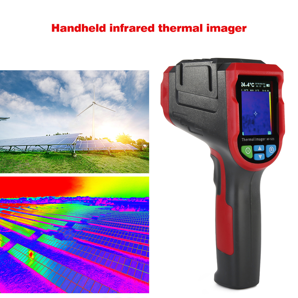 Digital Thermal Camera Made With ABS And Electronic Components Material 2