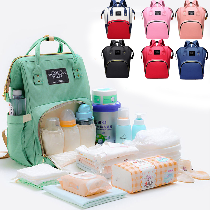 Large Capacity Mummy Bag Maternity Nappy Bag Travel Backpack Nursing Bag for Baby Care Women's backpack for mom