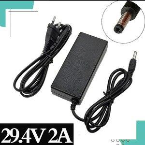 Image 1 - 29.4V 2A Sạc 24V 25.2V 25.9V 29.4V 7S Pin Lithium 29.4V Recharger E Sạc Xe Đạp DC 5.5*2.1 MM EU/Mỹ/AU/Vương Quốc Anh