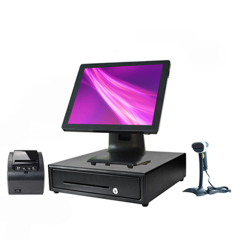 ComPosXb Touch all in one PC POS terminal Popular cash register