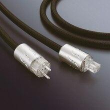 Viborg 16 szt. Multplex miedziany kabel audiofilski Schuko zasilanie prądem zmiennym z czystą miedzianą wtyczka zasilania