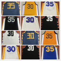 Dropshipping Mens Stephen Curry Jersey Kevin Durant baloncesto Jersey MAN Basket Uniforms Stitched Trikots Shirts Wholesale
