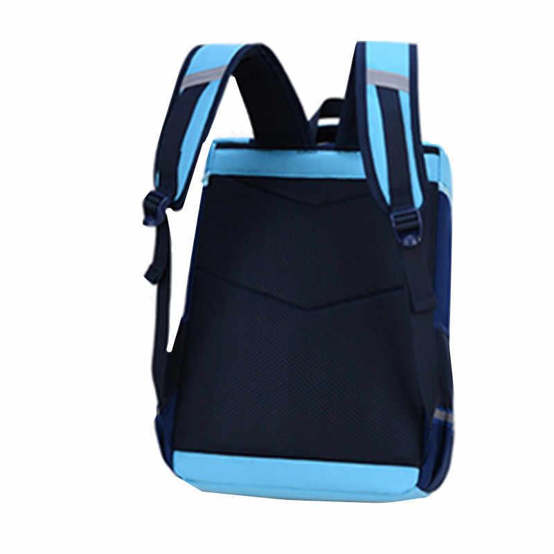 OKKID childen torby szkolne dla chłopców nieprzemakalny plecak szkolny student bookbag prezenty dla dziewczynek śliczny niebieski różowy plecak tornister
