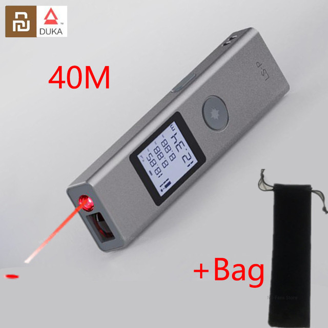 NEUE AUF LAGER Youpin Duka 40m Laser range finder LS P USB lade Palette Finder Hohe Präzision Messung entfernungsmesser