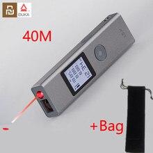 새로운 재고 있음 Youpin Duka 40m 레이저 거리 측정기 LS P USB 플래시 충전 거리 측정기 고정밀 측정 거리 측정기