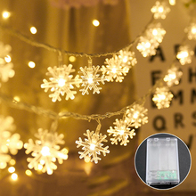 QIFU Led Copper Wire String Light Merry Christmas Decorations For Home Navidad 2019 Noel Photo Clips Decor Happy New Year 2020