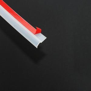 Image 3 - 4 mét kiểu Z Xe Đệm Cửa Dây Cách âm Trong Suốt Đen niêm phong dây cao cấp ô tô băng dán niêm phong