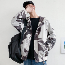 Autumn Camo Jacket Men Fashion Military Style Casual Hooded Jacket Coat Man Streetwear Wild Loose Hip Hop Bomber Jacket Men цена 2017