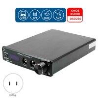 FX-o DAC-X7 DAC Decoder Hifi o Digital Headphone Amplifier DSD256 USB Optical Coaxial Preamplifier US Plug