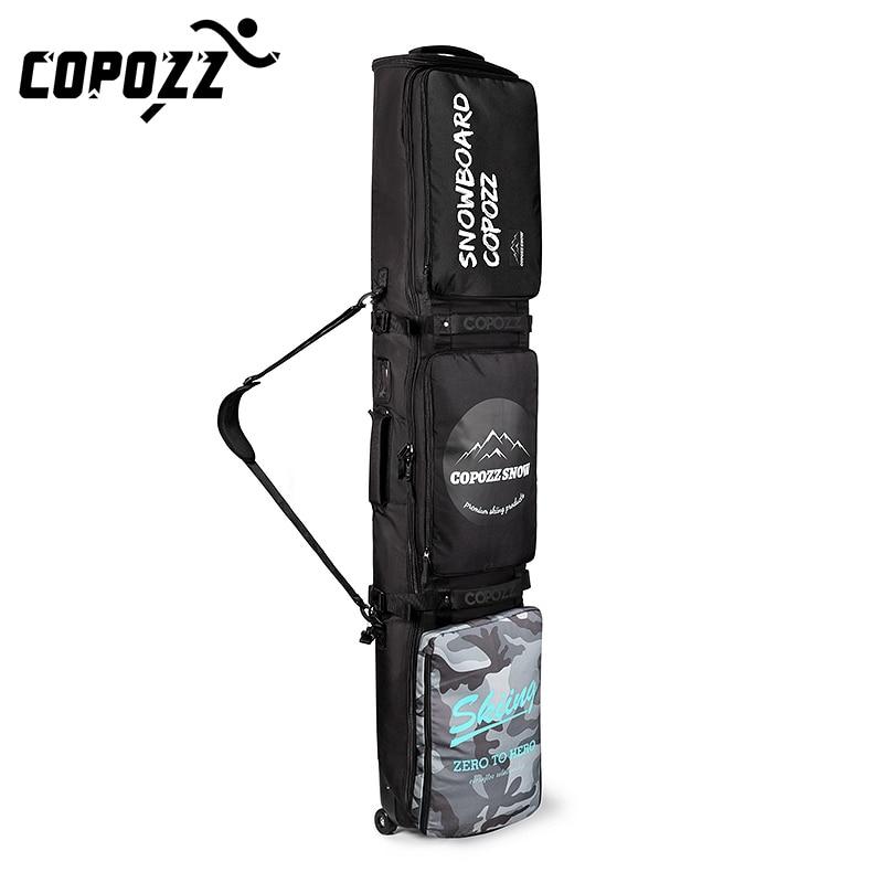 Новинка 2021, лыжные сумки для взрослых 158 см, 168 см, большая сумка для катания на роликах и сноуборда, водонепроницаемый рюкзак регулируемой длины, сумка на одно плечо