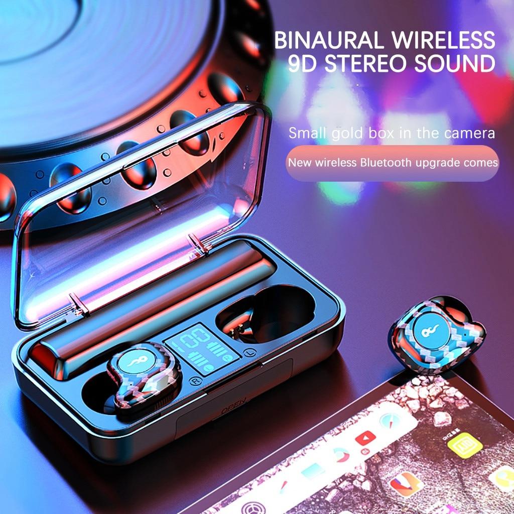 Bluetooth 5 0 Headset Tws Wireless Earphones Mini Earbuds Stereo Headphones Stereo Sans Fil Casque Wireless Earphones G40 Bluetooth Earphones Headphones Aliexpress