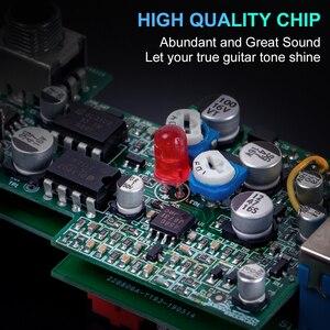 Image 2 - Kmise גיטרה אפקטים Phaser לגיטרה חשמלית DC 9V אחת מיני בציר Phaser פדאל