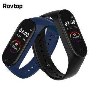 Image 1 - Smart Wristband Smart Activity Tracker M4 Smart Bracelet  Smart Band 4 Heart Rate Fitness Tracker Smart Watch for Men Women