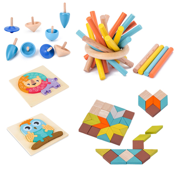 Kids Wooden Disassembly Toys Early Learning Education Intelligence Building Block Children Cognitive Interactive Game Toys shark bite game funny toys desktop fishing toys kids family interactive toys board game