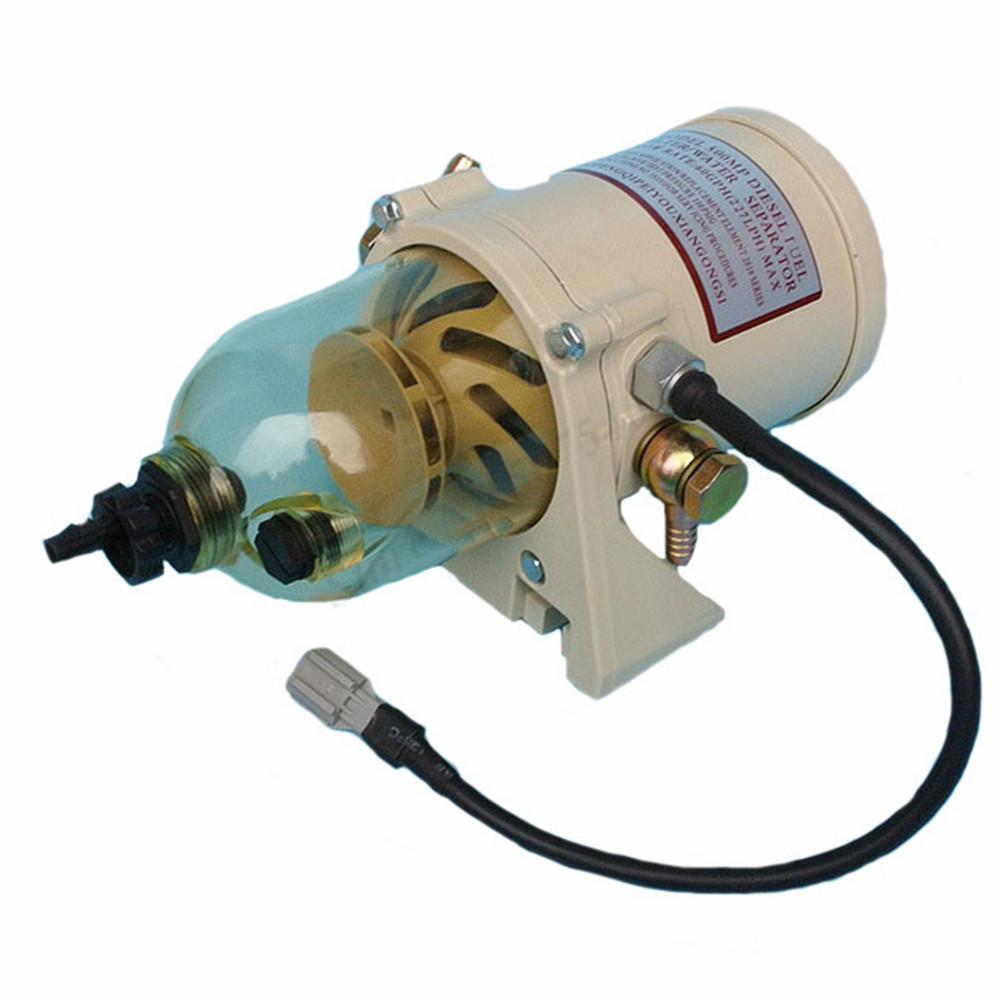 500FG assembly with 12V/24V heating wire <font><b>Fuel</b></font> Filter Marine Boat Trucks 90GPH Boat Engine <font><b>Fuel</b></font> <font><b>Water</b></font> <font><b>Separator</b></font> image