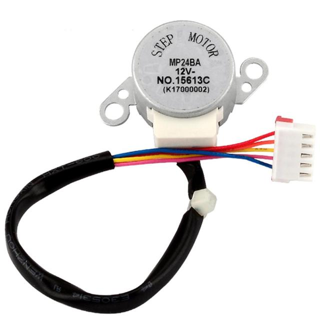 Universal air conditioning parts swing motor stepper motor for MP24BA  air conditioning stepper motor 12V DC