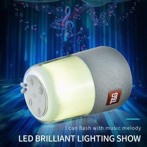 Image 2 - Smart LED Flash Light Bluetooth Speaker Draagbare Mini Outdoor Subwoofer 1200 MAh Muziekdoos FM Radio Nachtlampje Helpen Baby slaap