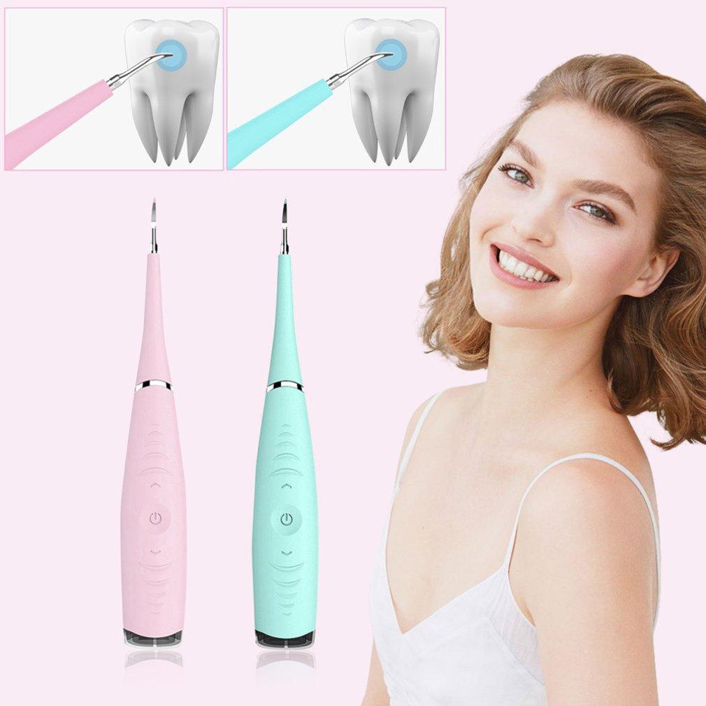 Бытовая чистка зубов, зубной камень, пятновыводитель, портативный Электрический Очиститель зубов 5