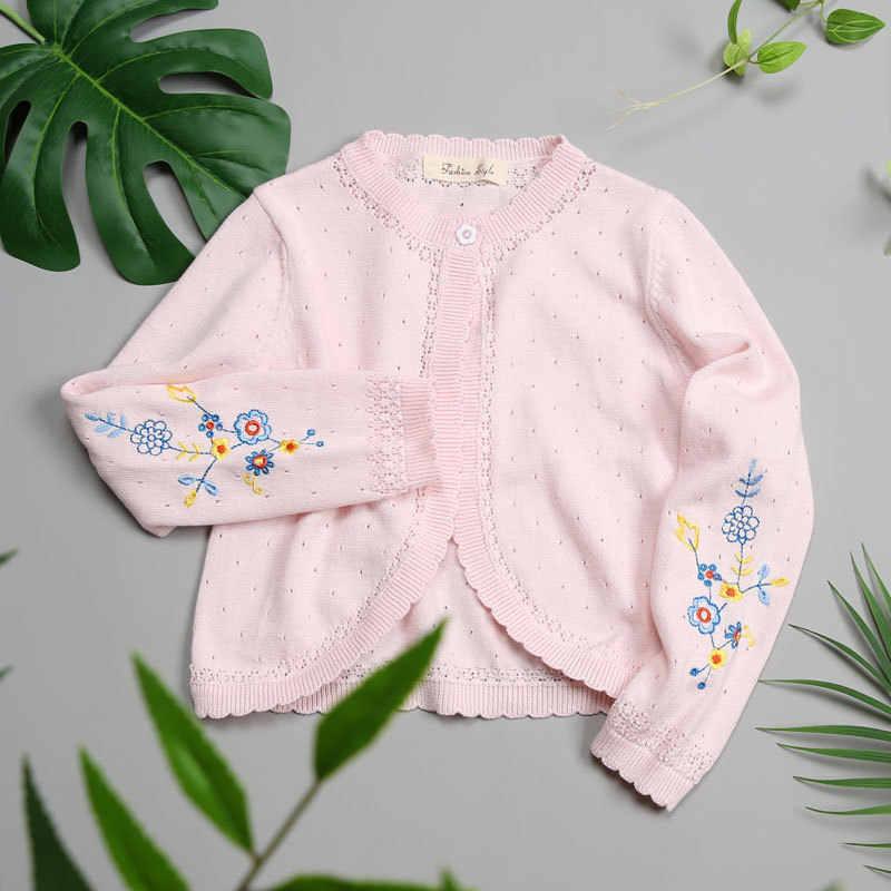 100% белая куртка для девочек кардиган, шаль, верхняя одежда для девочек 2019, детская одежда для девочек 1, 2, 3, 4, 6, 8, 10, 11 лет, RKC185002