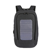 Solar Backpack Men and Women Charging Casual Outdoor Bag USB Charger Emergency Backpack