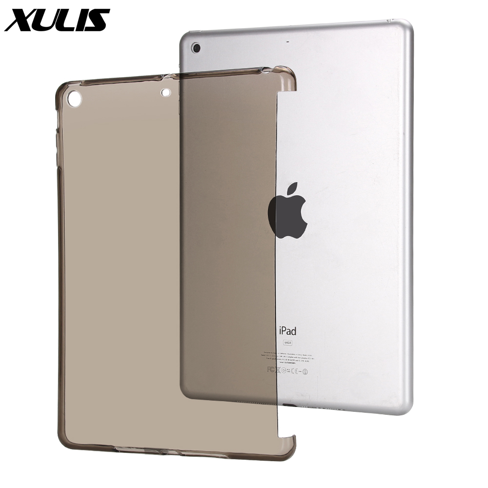 For Apple Ipad 7th Generation Case Compatible With Smart Keyboard Soft TPU Cover For IPad 10.2 Case Silicone A2197 A2198