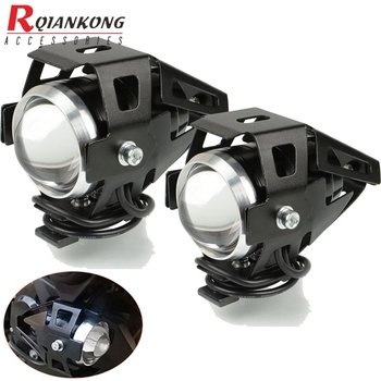 Chip de faro LED Universal para motocicleta, foco de conducción para Moto U5, para BMW R1200RT S1000XR S1000RR S1000R F800GT K1600G