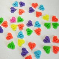 Hart Vorm Wiel Kleurrijke Plastic Fiets Spoke Kralen Multi Color Kinderen Clip Decoratie Baby Fiets Kid Fietsen Accessoires-in Beschermende uitrusting van sport & Entertainment op