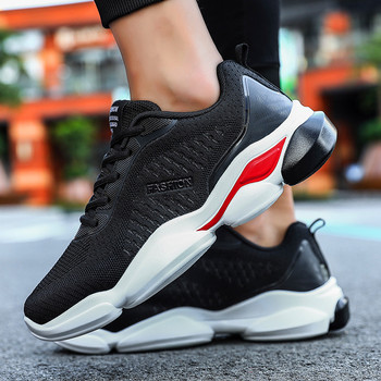 Casual Shoes For Men 2019 Breathable Men Shoes Outdoor Trend Sneakers Light Couple Footwear Comfortable Sneakers Men Flats Brand