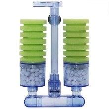 Практичный бутик аквариумный фильтр, ультра Тихая биохимическая губка, фильтр для аквариума воздушный насос для аквариума Betta Fry