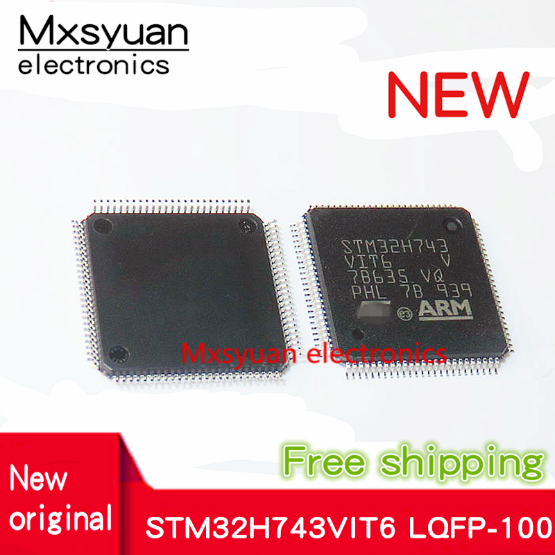 1PCS~5PCS/LOT STM32H743VIT6 STM32H743 QFP100 New Original