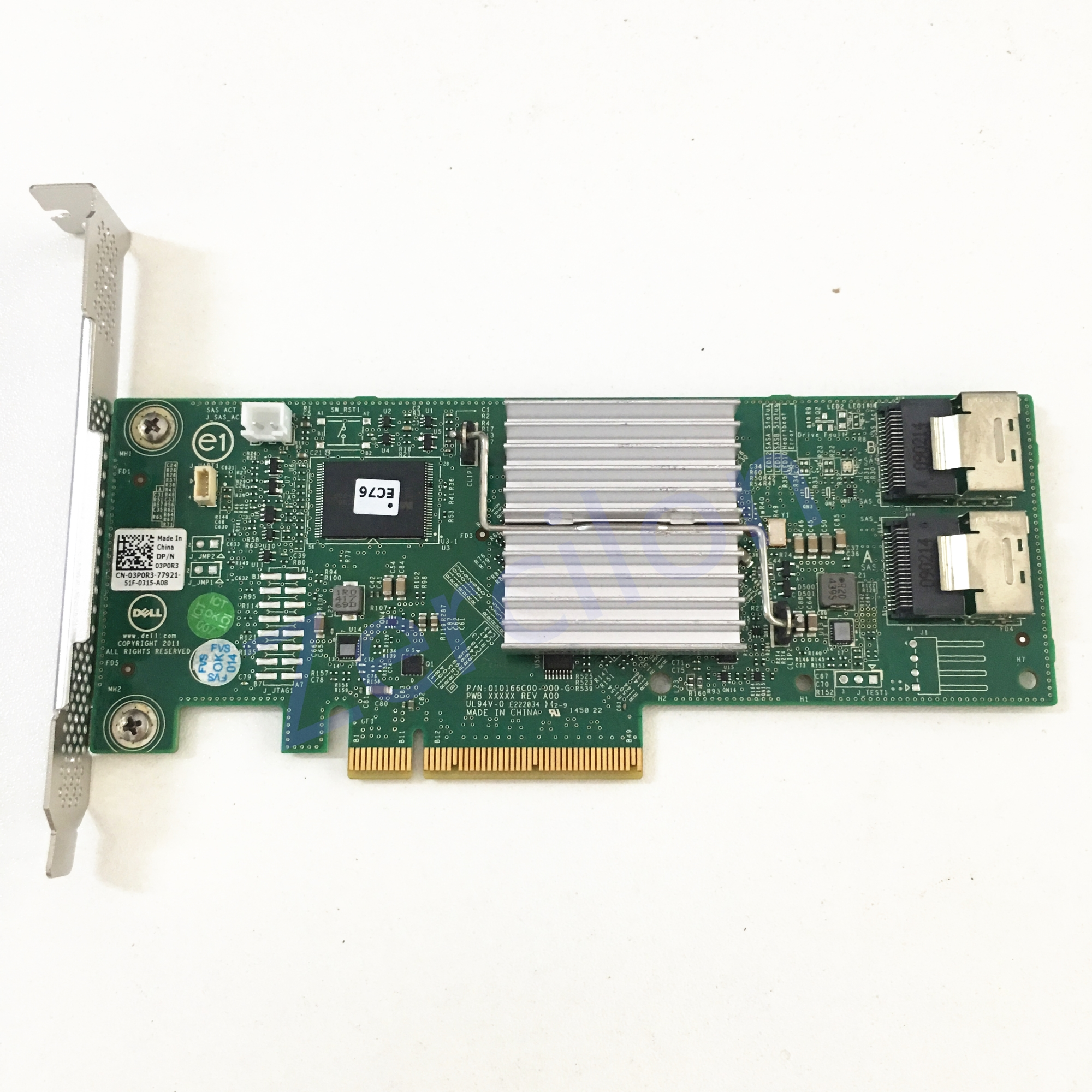 Image 3 - Used original Dell Perc H310 SATA / SAS HBA Controller RAID 6Gbps