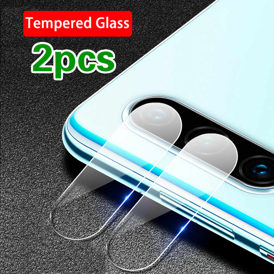 2PCS Protection Tempered Glass Film for Huawei P30 Pro P30 lite Honor 9xmax Y7 Pro Y9 2019 Y6 Y7 2018 Camera Lens Protector Film