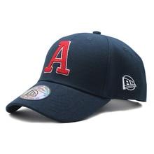 new Black Cap Hat Men Cotton Baseball Caps