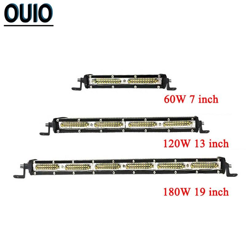 84 cm 180W Barre D/'Éclairage LED 4D Faisceau Combiné Rampe de Travail Auto 4x4