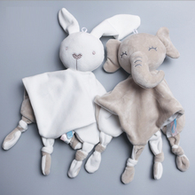 Baby Comforter Toys Plush Bunny Doudou Bebe Sleeping Towel Montessori Baby Rattles Stuffed Animals Appease Baby Toys 0 12 Months