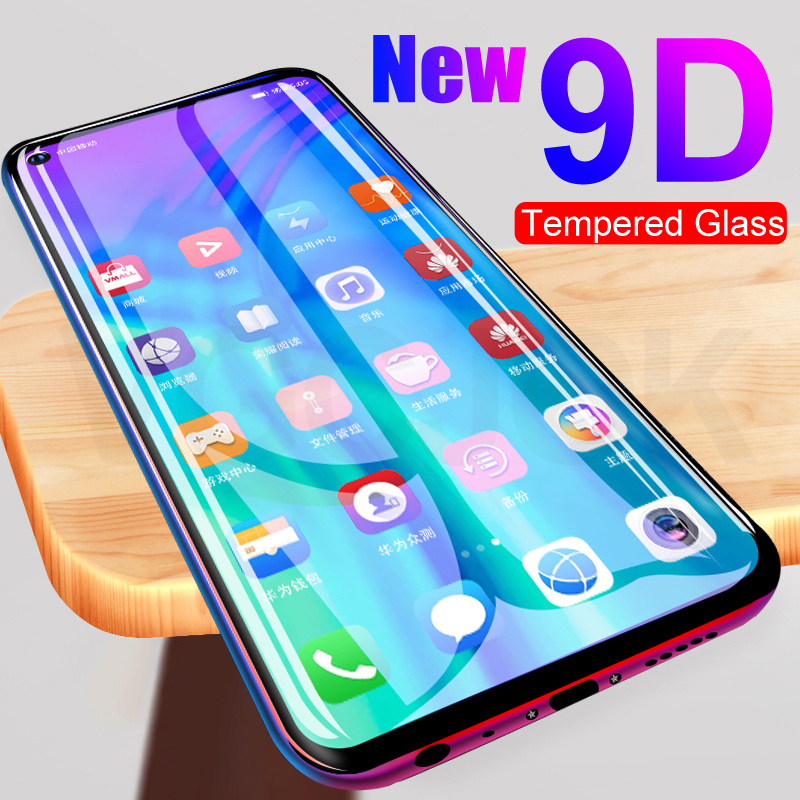 9D Protective Glass For Huawei Honor 20 10 Lite View 20 Pro V20 Play Tempered Screen Protector For Honor 9X 9i 10i 20i 20S Film
