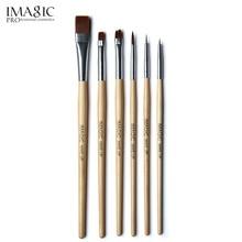 IMAGIC 6 Pcs brush set Body painting paint face make up tools