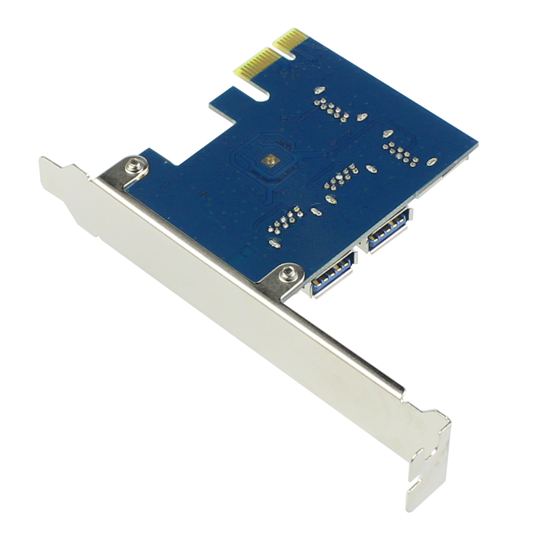 PCIE PCI-E PCI Express Riser Card 1x to 16x 1 to 4 USB 3.0 Slot Multiplier Hub Adapter For Bitcoin Mining Miner BTC Devices-2