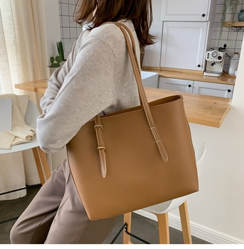 SMOOZA Women bag Solid Women's PU Leather Handbags Luxury Lady Hand Bags Purse Pocket Women messenger bag Big Tote Sac Bols Uncategorized Fashion & Designs Ladies Bags Luggage & Bags Women's Fashion