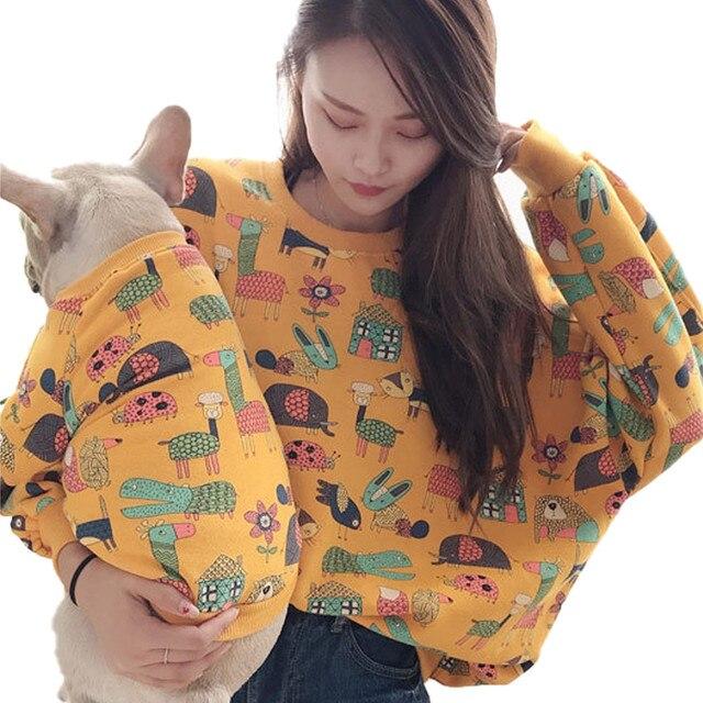 Фото miflame семейные толстовки для собак корги одежда французского