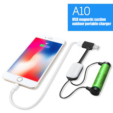 Mini Magnetic Battery Charger Mobile Power Portable Multifunction USB LHB99