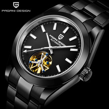 PAGANI DESIGN New Stainless Steel Men Watch Sapphire Glass T