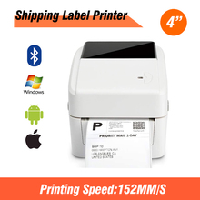 Printer Sticker 203 Dpi XP420B Android USB for Iso MAC 152mm/S Self-Adhesive 4inch