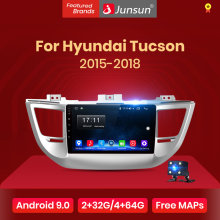 Junsun V1 2G + 32G Android 9.0 Voor Tucson 3 IX35 2016 2017 Auto Radio Multimedia Video Player navigatie Gps 2 Din Dvd(China)